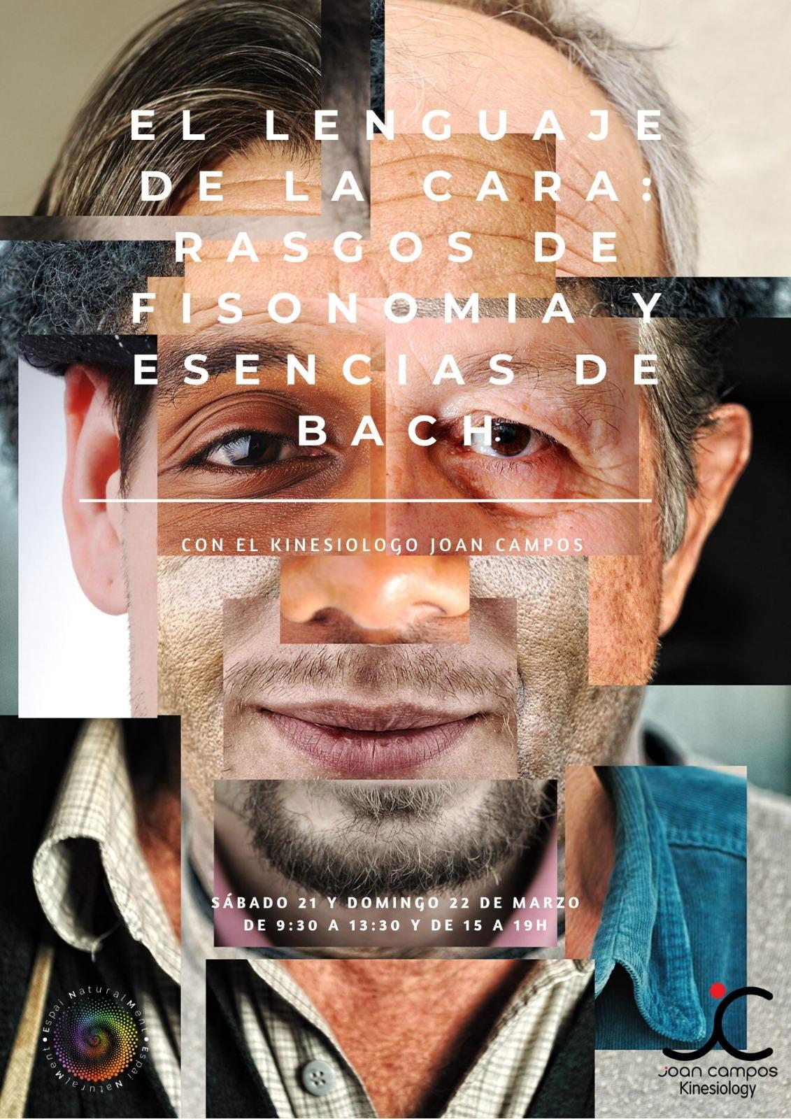 El lenguaje de la cara 21 y 22 de Marzo Espainaturalment